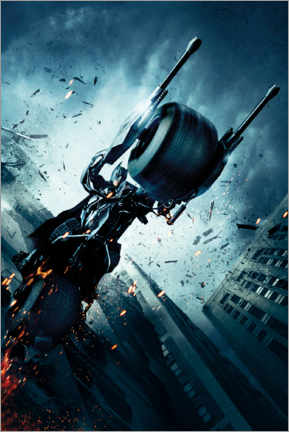 Póster Premium  The Dark Knight Rises - Batpod