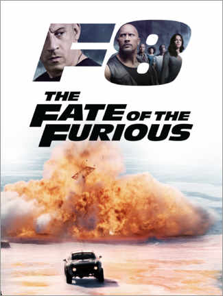 Póster Premium  The fate of the furious