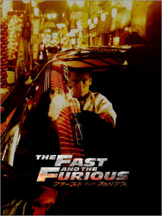 Póster Premium  The fast and the furious - Tokyo Drift
