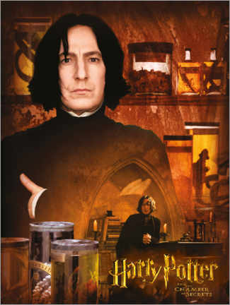 Póster Premium Severus Snape and the Chamber of Secrets
