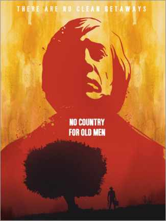 Póster Premium No Country for Old Men