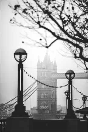 Póster Premium  Tower Bridge Londres - Matthew Williams-Ellis