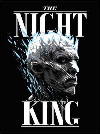 Póster Premium  Game of Thrones - The Night King