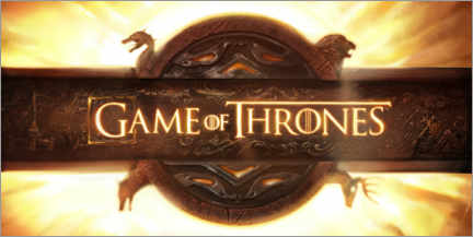 Póster Premium  Game of Thrones - opening credits