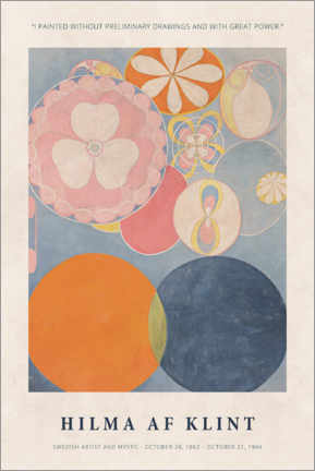 Póster Premium  Hilma af Klint - With great power - Museum Art Edition