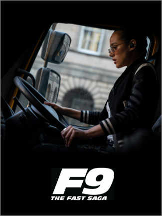Póster Premium  F9 - Ramsey at the wheel