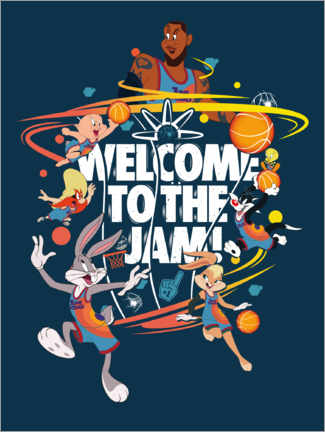 Póster Premium  Space Jam 2 - Welcome to the Jam!