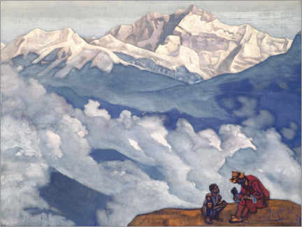 Póster Premium  Pearl of Searching - Nicholas Roerich
