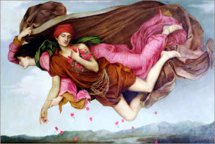 Autocolante decorativo  Noite e sono - Evelyn De Morgan
