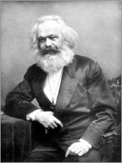 Autocolante decorativo  Karl Marx - English Photographer