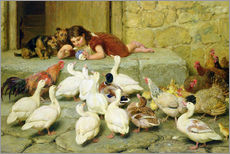 Autocolante decorativo  The Last Spoonful - Briton Riviere