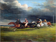 Autocolante decorativo  The Epsom Derby - Theodore Gericault