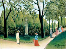Autocolante decorativo  The Monument to Chopin in the Luxembourg Gardens - Henri Rousseau