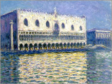 Autocolante decorativo  The Ducal Palace - Claude Monet