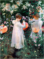 Autocolante decorativo  Carnation, Lily, Lily, Rose - John Singer Sargent