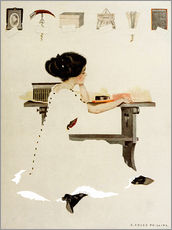 Autocolante decorativo  Know all men by these presents - Clarence Coles Phillips