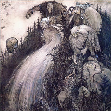 Autocolante decorativo  Troll of the forest - John Bauer
