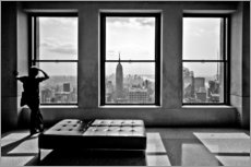 Autocolante decorativo  New York, Top of the Rock - Thomas Splietker