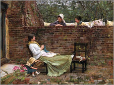 Autocolante decorativo  Chat - John William Waterhouse