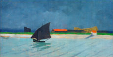 Autocolante decorativo  The mouth of the Seine - Felix Edouard Vallotton