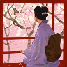 Póster Premium Madama Butterfly