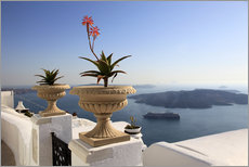 Autocolante decorativo  Balcony in Greece - Hans-Peter Merten