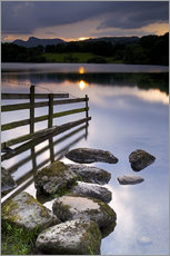 Autocolante decorativo  Loughrigg Tarn in England - Jeremy Lightfoot