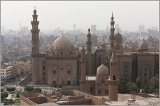 Autocolante decorativo  Mosque of Sultan Hassan in Cairo old town, Cairo, Egypt, North Africa, Africa - Martin Child