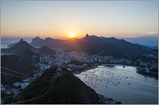 Autocolante decorativo  View from the Sugarloaf - Michael Runkel