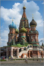 Quadro em plexi-alumínio  St. Basil's Cathedral, Moscow - Michael Runkel