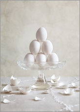 Autocolante decorativo  Still Life with Eggs - Nailia Schwarz