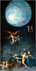 Autocolante decorativo  Ascent of the Blessed - Hieronymus Bosch