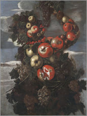 Quadro em plexi-alumínio  Autumn (An Allegory of the Four Seasons) - Giuseppe Arcimboldo