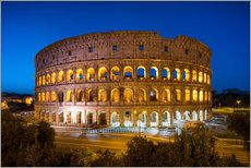 Autocolante decorativo  Colosseum in Rome at night - Jan Christopher Becke