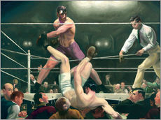 Autocolante decorativo  Dempsey and Firpo - George Wesley Bellows