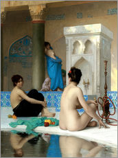 Autocolante decorativo  After the bath - Jean Leon Gerome