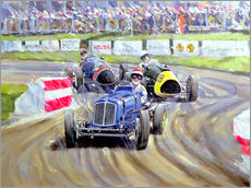 Autocolante decorativo  The First Race at the Goodwood Revival, 1998 - Clive Metcalfe