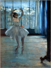 Autocolante decorativo  Dancer in Front of a Window - Edgar Degas