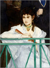 Autocolante decorativo  The Balcony (Detail) - Edouard Manet