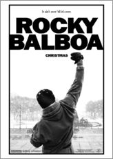 Quadro em plexi-alumínio  Rocky Balboa - Entertainment Collection