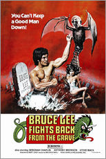 Quadro em plexi-alumínio  Bruce Lee Fights Back from the Grave - Entertainment Collection