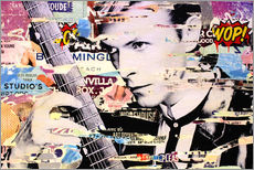 Autocolante decorativo  David Bowie, and there is nothing I can do - Michiel Folkers