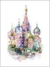 Autocolante decorativo  St. Basil's Cathedral