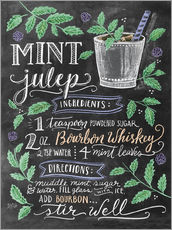 Autocolante decorativo  Mint Julep recipe - Lily & Val