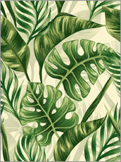 Autocolante decorativo  Monstera