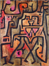 Autocolante decorativo  Forest witches - Paul Klee