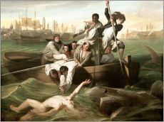 Autocolante decorativo  Watson and the shark - Winslow Homer