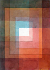 Autocolante decorativo  White framed polyphonically - Paul Klee