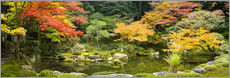 Autocolante decorativo  Japanese garden in autumn - Jan Christopher Becke