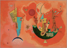 Autocolante decorativo  With and against - Wassily Kandinsky